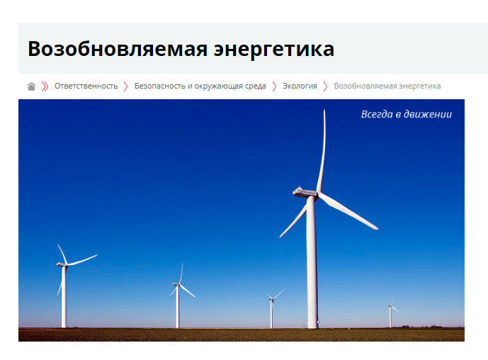 Ветроэнергетика Лукойл