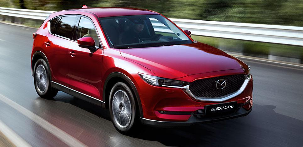 Автомобиль Mazda CX 5 с коробкой передач автомат