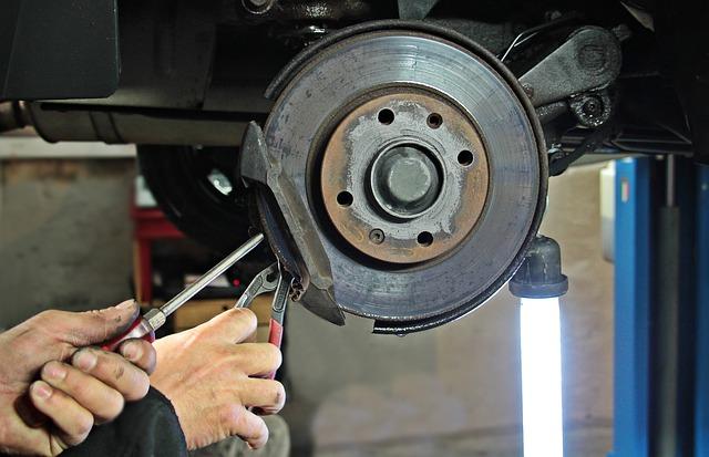 Тормозная система легкового автомобиля, ремонт