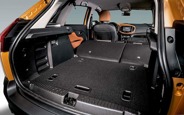 Объём багажника на Лада Xray Cross, фото