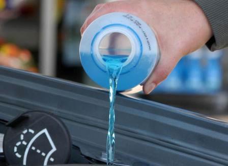 Незамерзайка для омывателя стекла автомобиля
