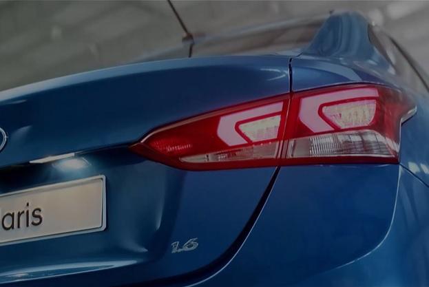 Задние фонари Хендай Солярис, Hyundai Solaris