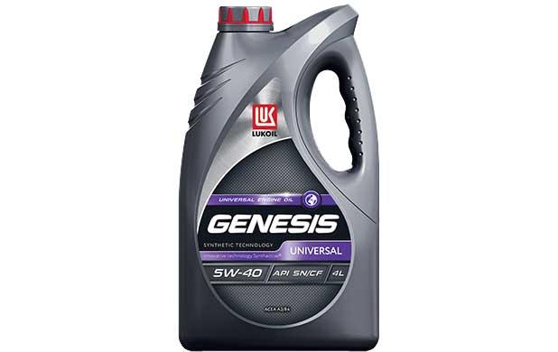 Моторное масло Лукойл 5w40 синтетика Genesis Armortech Universal