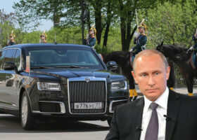 Аурус Сенат - на какой машине ездит Путин? Какая машина у Путина сейчас?